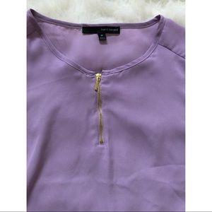 Harve Bernard purple blouse